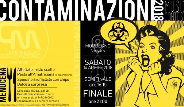 CONTAMINAZIONI music contest 2018 – Semifinali e Finali
